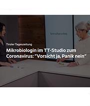 Mikrobiologin Cornelia Lass-Flörl ist wieder Gast im TT-Studio