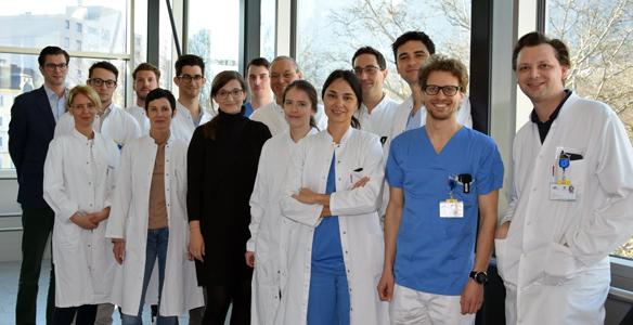 Ein multiprofessionelles Team sorgt für die reibungslose und korrekte Durchführung der Studie. BU: Foto: MUI/Hoffmann-Ammann.