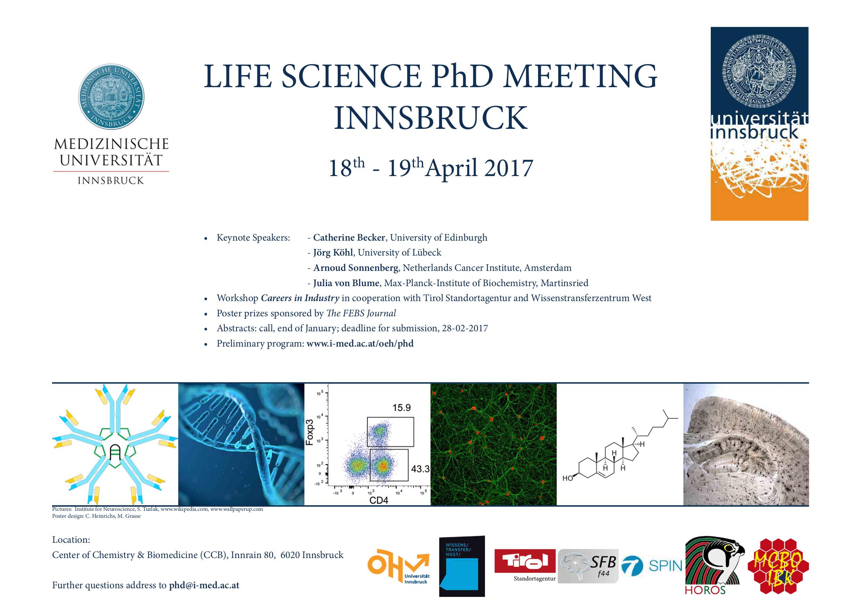 PhD Representatives - Home - Medizinische Universität Innsbruck