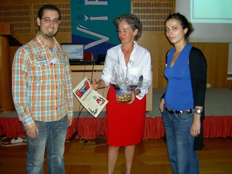 poster prize award - Christine Luders Lebenslauf